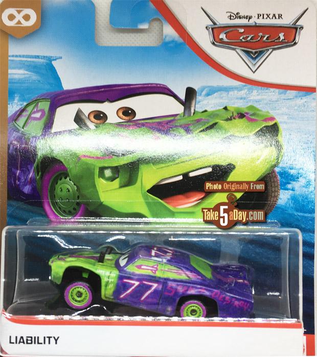 Dan The Pixar Fan Cars 3 Liability Demo Derby