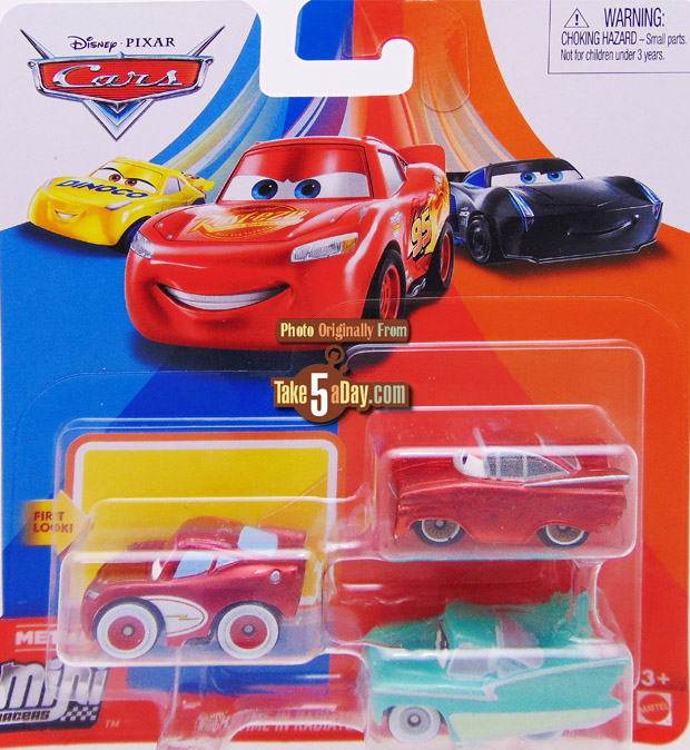 Take Five A Day Blog Archive Mattel Disney Pixar Cars Mini