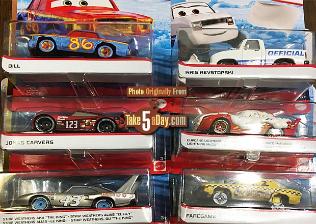 Take Five A Day Blog Archive Mattel Disney Pixar Cars 2020 Singles Case Dxv29 946e Preview